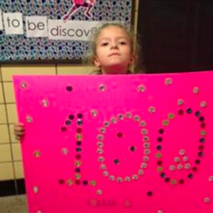 South Shores first graders celebrate the 100th day of school!