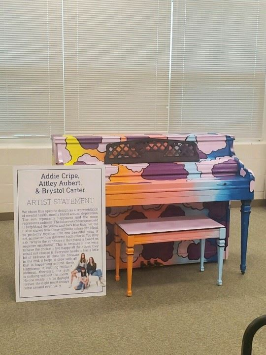 Public Painted Pianos Project